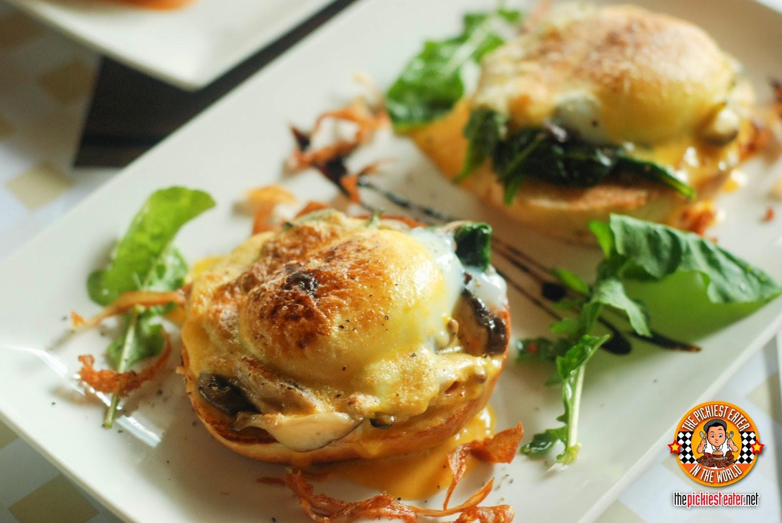 unique eggs benedict