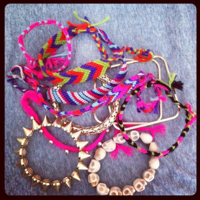 Friendship Bracelet, Gina Tricot bracelet,