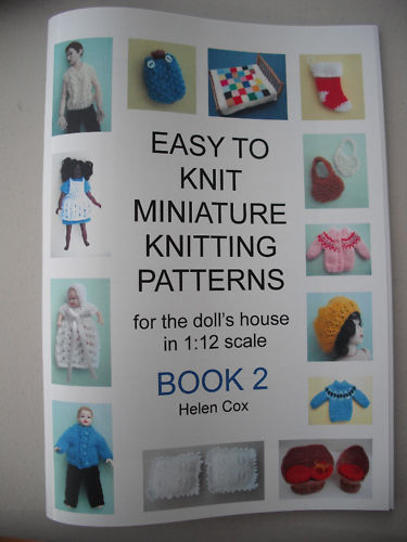 Knitting Pattern Books : ... knitting pattern book easy to knit miniature knitting patterns for the