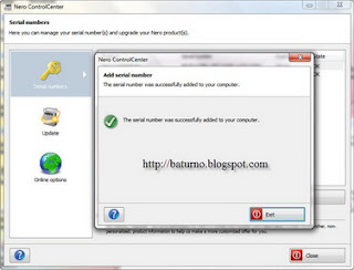 Cara Aktifasi Nero Burning ROM.12.5.01900 Dengan Crack Serial
