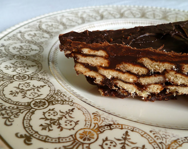 From: 'Sense & Simplicity: Prince William's Chocolate Biscuit Cake'