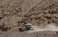 En la séptima etapa, el Rally Dakar pisa hoy suelo argentino