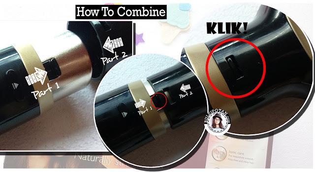 Penggunaan Kerashine Air Styler