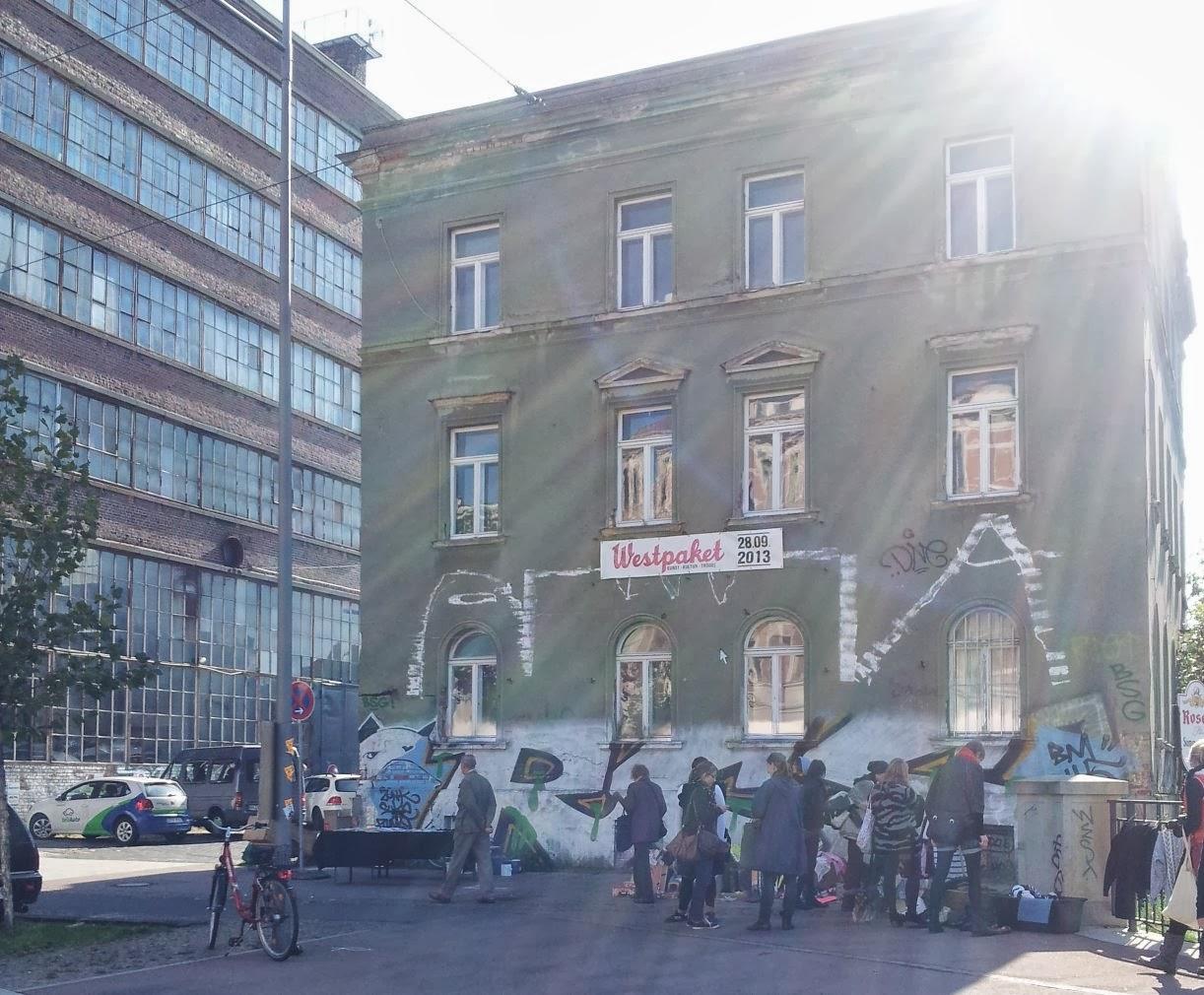 Favorite places leipzig westbesuch westpaket westwerk for Garderobe leipzig