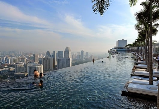 Singapore's SkyPark pool