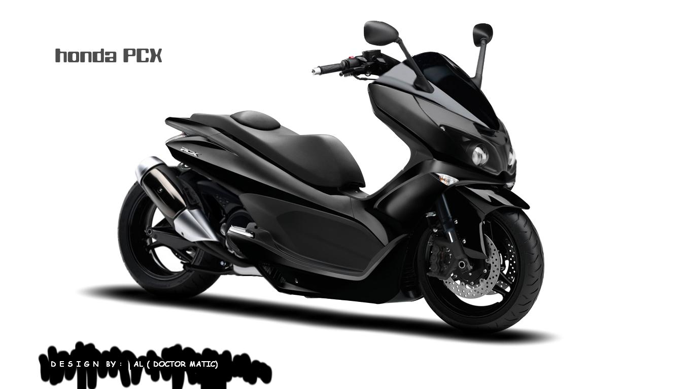 Modifikasi Honda PCX GARANG title=