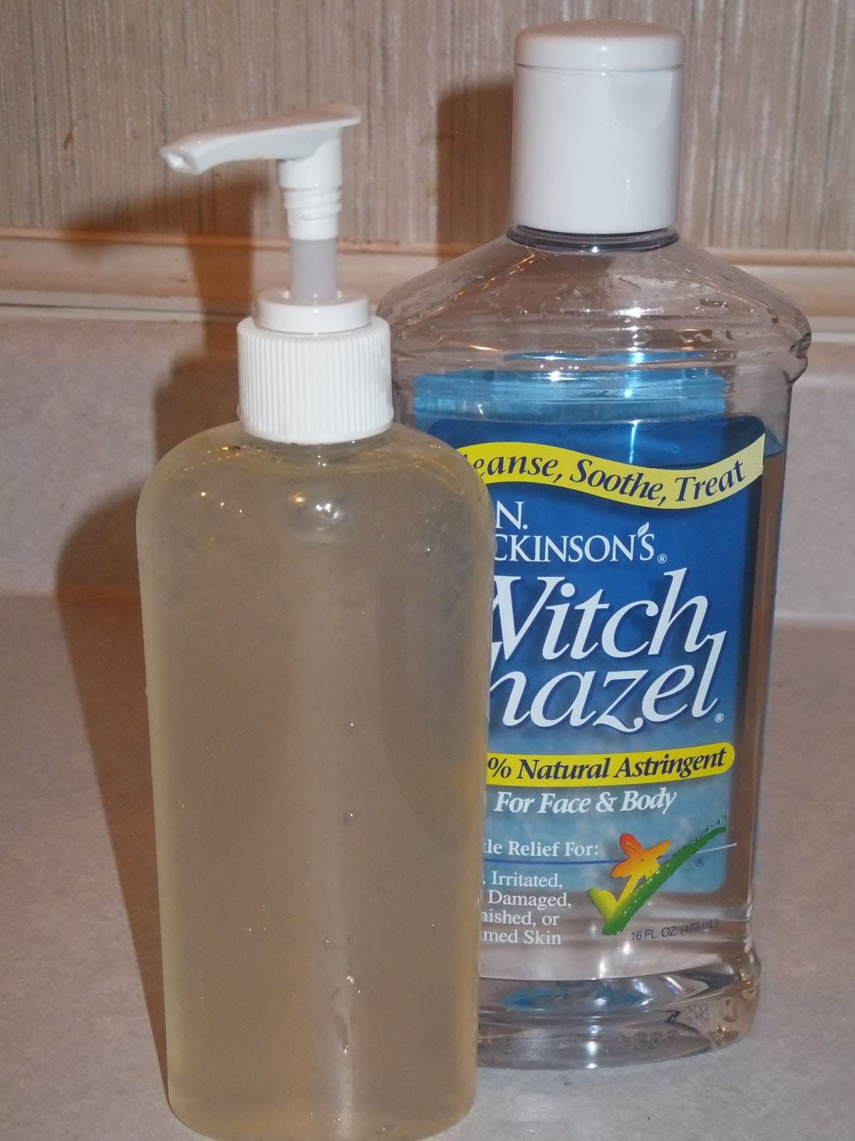 Natural Hand Sanitizer Recipe Alcohol Free