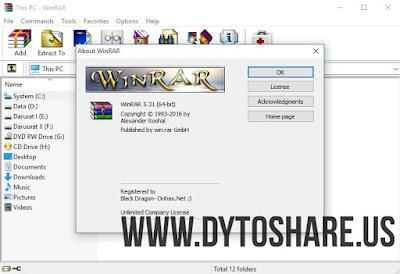 WinRAR 5.31 Final Full Version