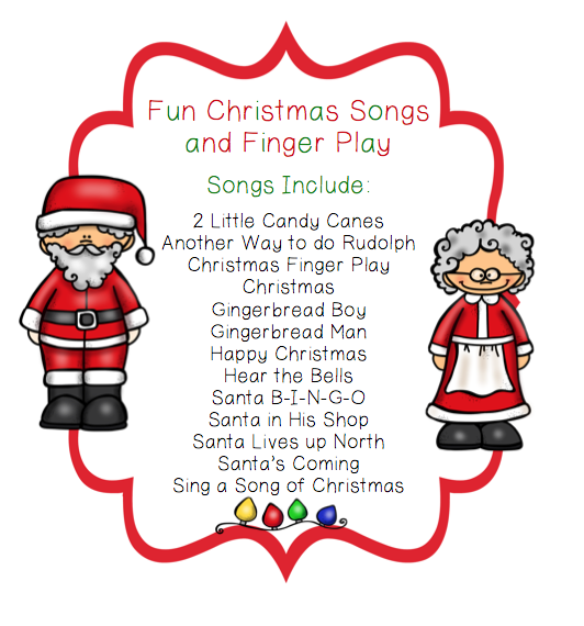 Fun Christmas Songs and Finger Play with Puppet Sticks ~ Preschool ...