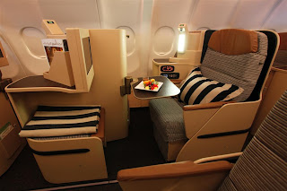 Etihad Airways Business Class Cabin