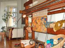 my tapestry studio