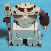 MSM-07 ZGOK Gundam Papercraft