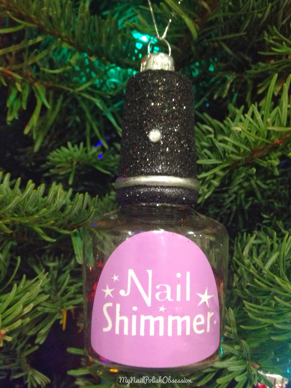 i found this pretty glittery ornament at targethow could i resist - Christmas Ornaments Target