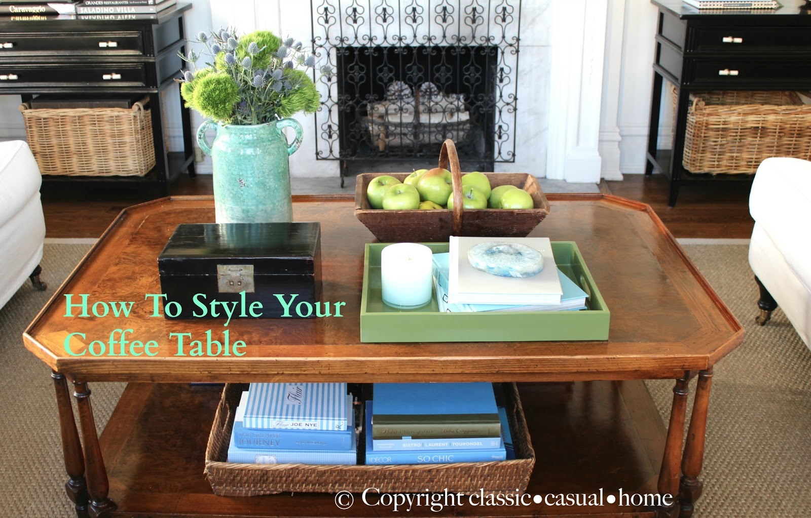 classic casual home Project Design How To Style Your Coffee