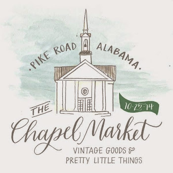 We're doing it again this year - come shop CHAPEL MARKET!