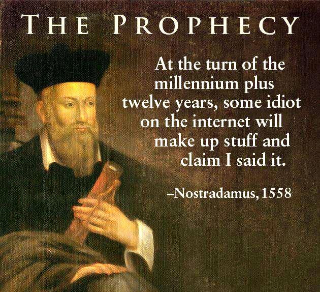 Nostradamus end of world 3797
