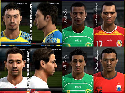Download Facepack ISL & IPL PES 2013