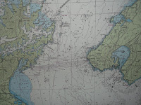 Map of the Cook Strait