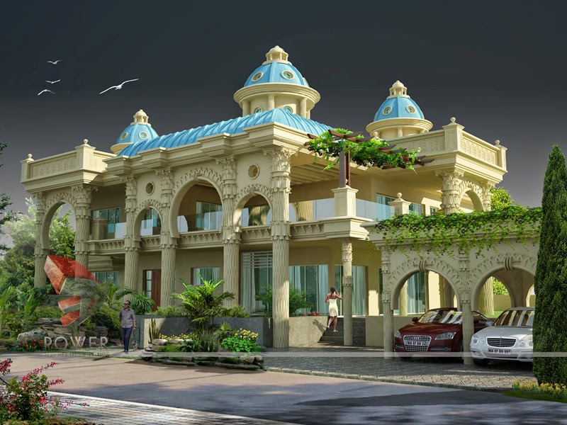 Beautiful House/Bungalow Plans With Photos In India