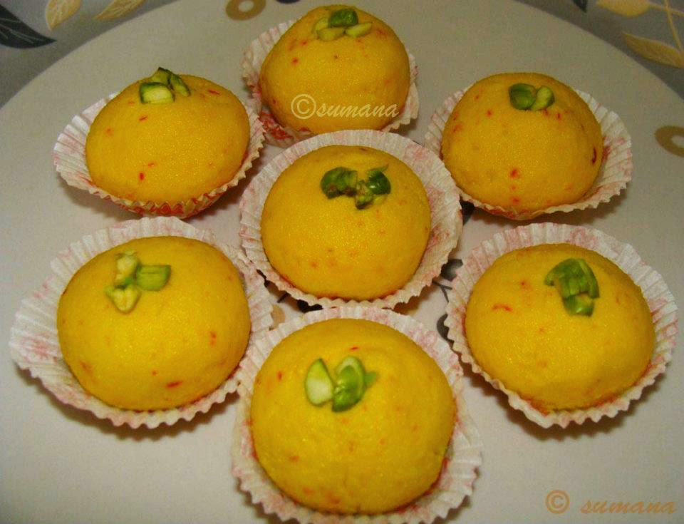 easy kesar sandesh recipe