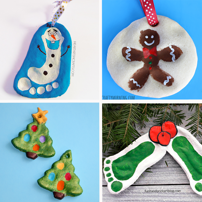 Sweetest Christmas Keepsake Ornaments for Kids -