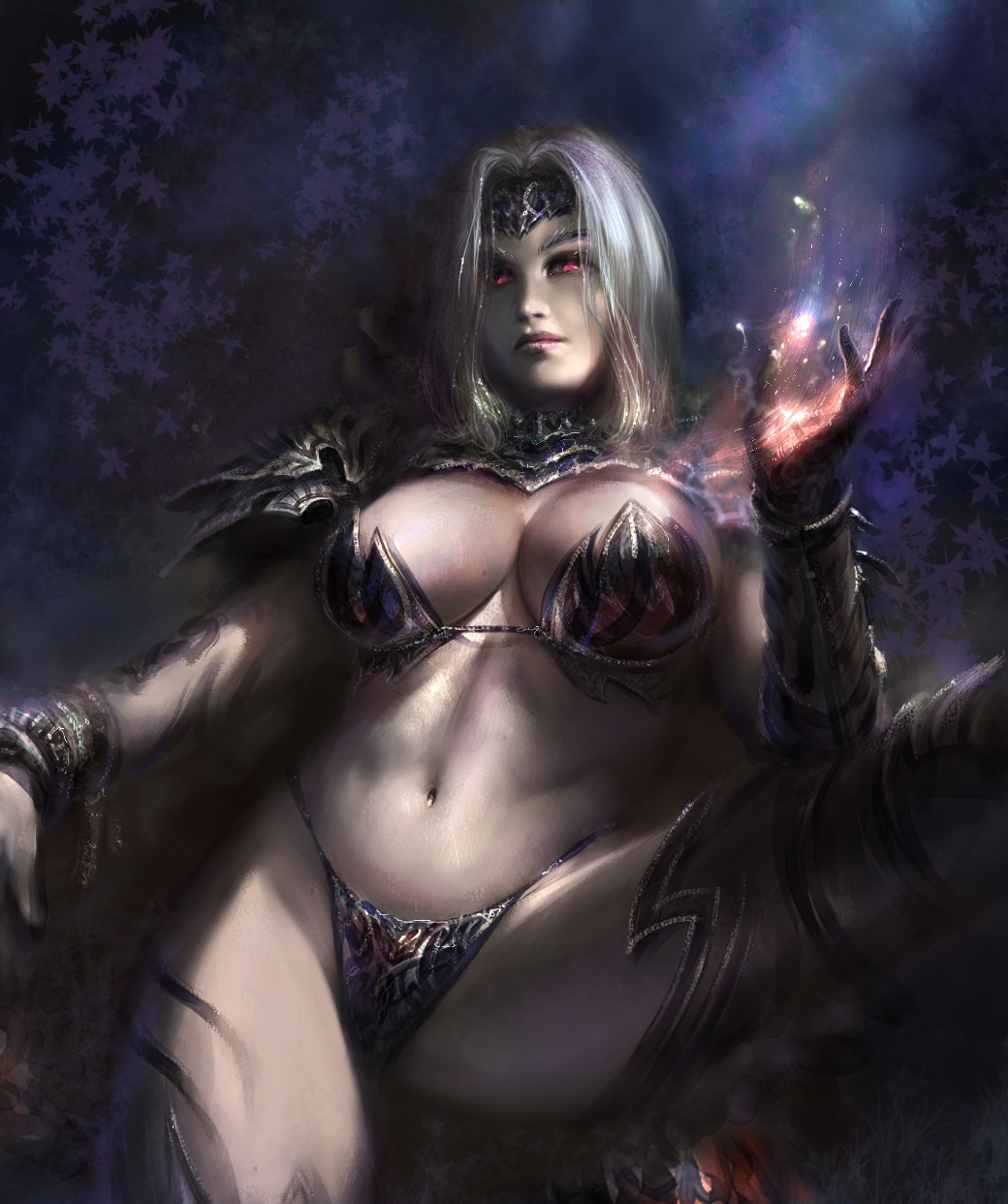 Dark elf pin-up 3d pornos images