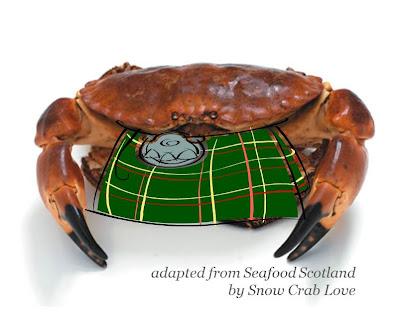Snow Crab Love: St. Andrew's Day