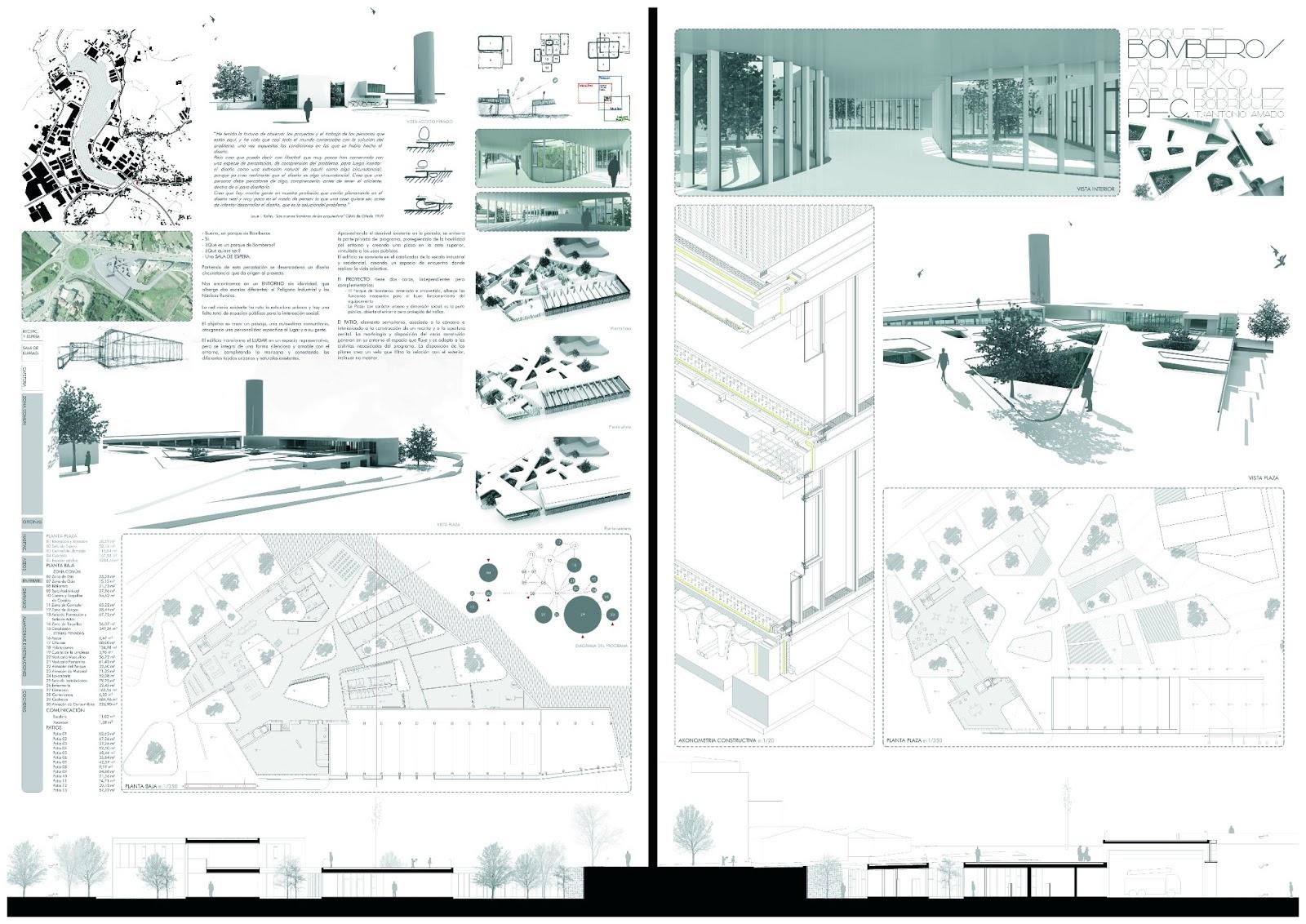 Premio pfc arquitectura 2012 tv arquitectura aib - Arquitectura de interiores coruna ...