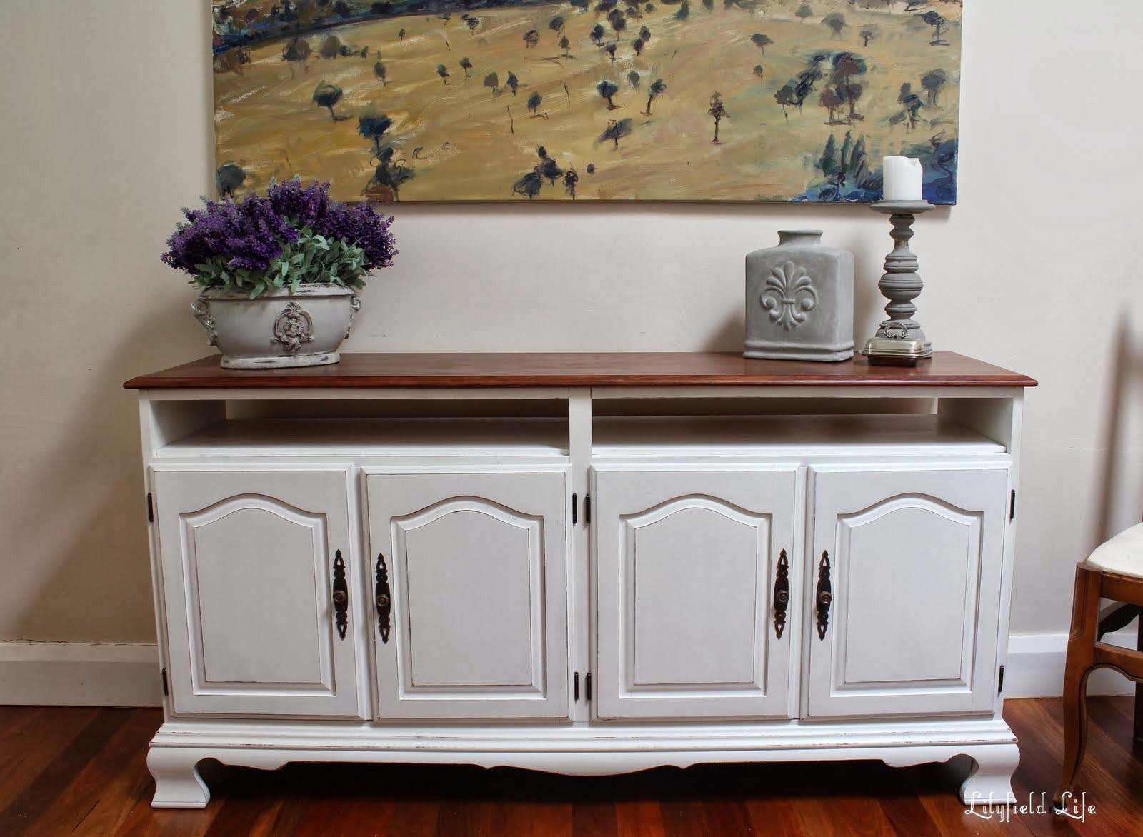Lilyfield Life: Turn a Sideboard into a French Provincial TV Cabinet