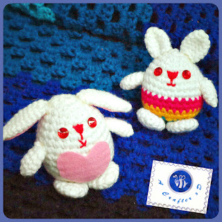 crochet Easter bunny, bunny amigurumi