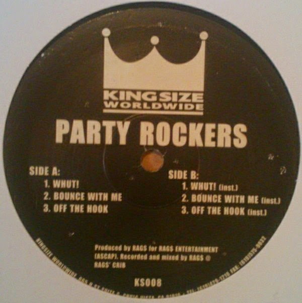 DJ Rags ‎- (No Date) Party Rockers (VLS) (320)
