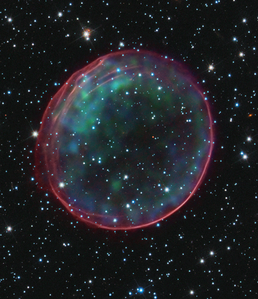 exploding supernova hubble telescope-#7
