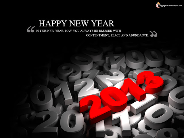 Happy New Year Blessing Wallpapers