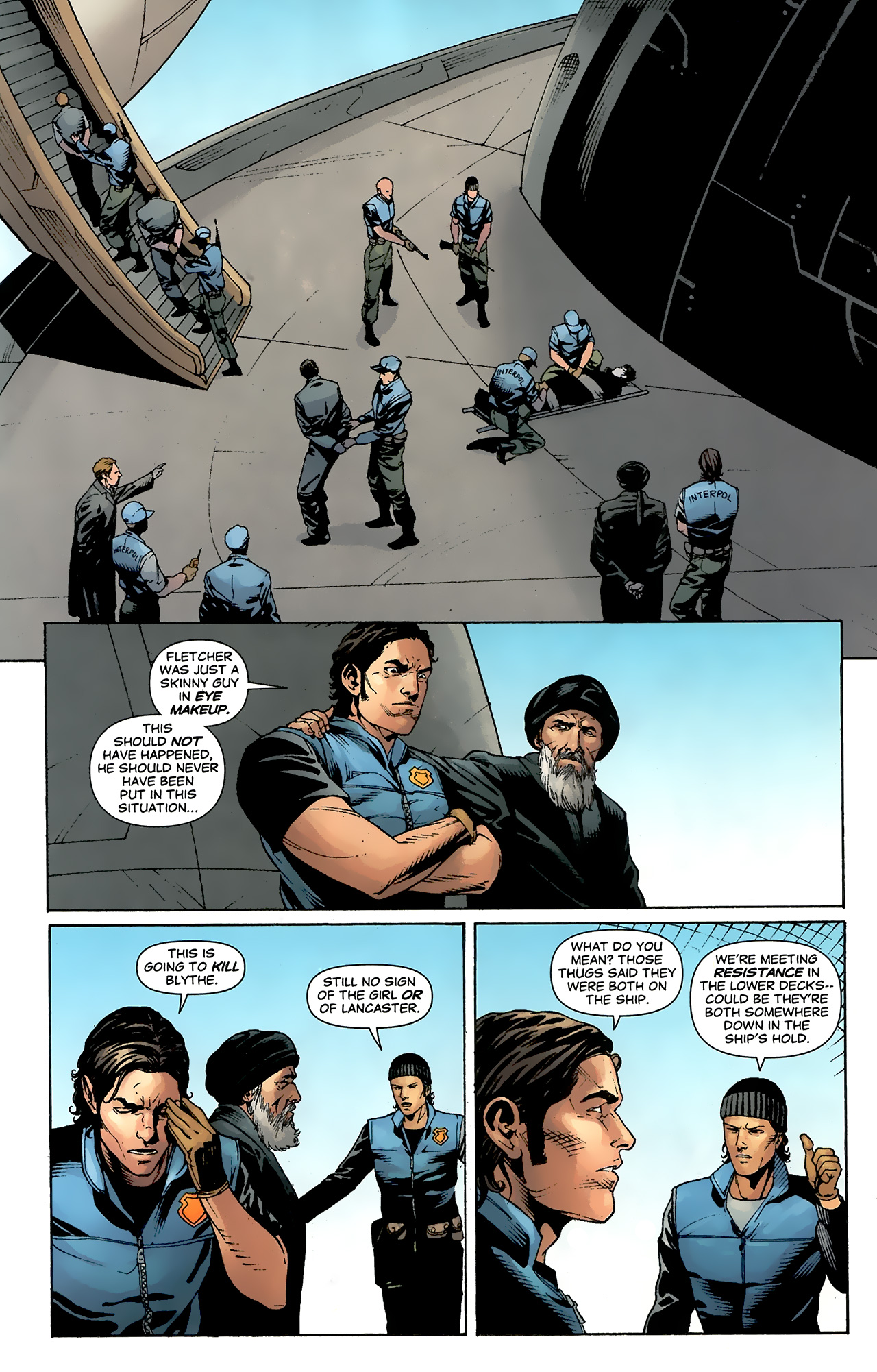 Read online Air comic -  Issue #24 - 7