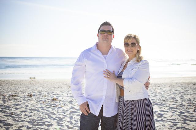 Carmel Beach Engagement Photography - Rachel Zee Weddings Portraits