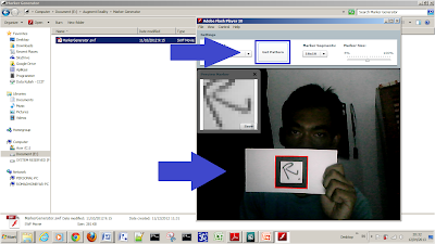 Belajar Augmented Reality dengan Flartoolkit - Augmented Reality - Scan Marker AR
