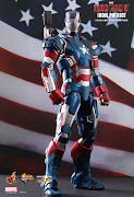 Pre Order Hot Toys 1/6 scale Iron Patriot die cast MMS195D01 (pd)