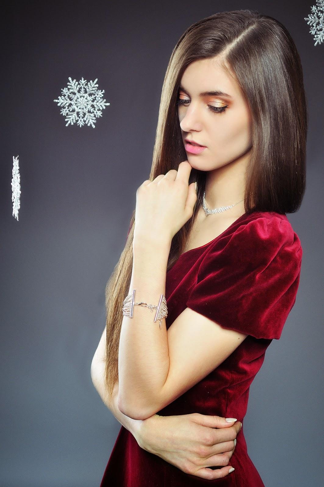 [161.] Zimowa sesja: świąteczny błysk oraz karnawałowa charakteryzacja.