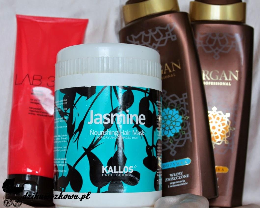 Kallos jasmine lab25 argan do włosów zniszczonych i suchych