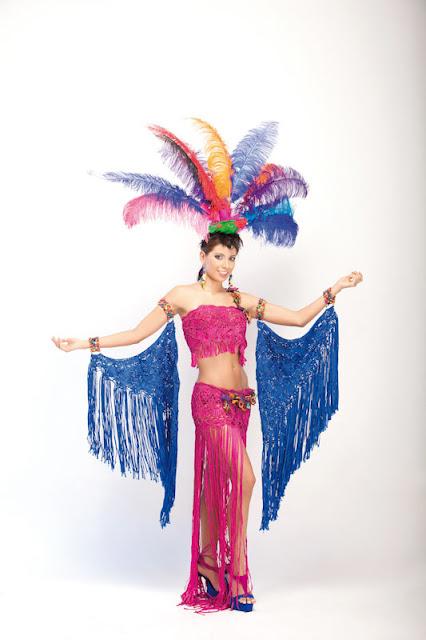 Srta. Colombia 2011-2012. Desfile en traje artesanal Nariño: Catalina Lasso Ortiz