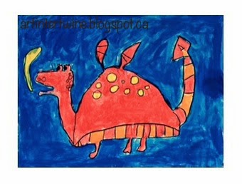 Dragon Painting For Kids