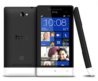HTC Windows phone in Black