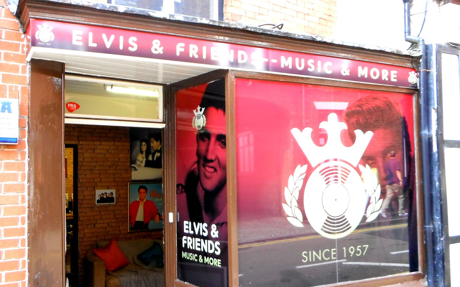 Head-quarters of the Official Elvis Presley Fan Club of Great Britain