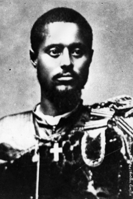 ... of Abyssinia, later Haile Selassie I, Emperor of Ethiopia, Circa 1915