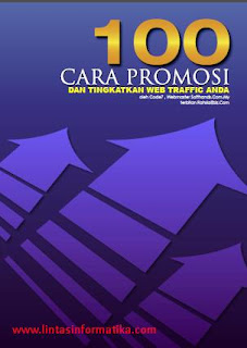 ebook, promosi blog, traffic web