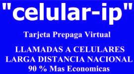 llamar a CELULAR a 90 % Mas Barato !!!