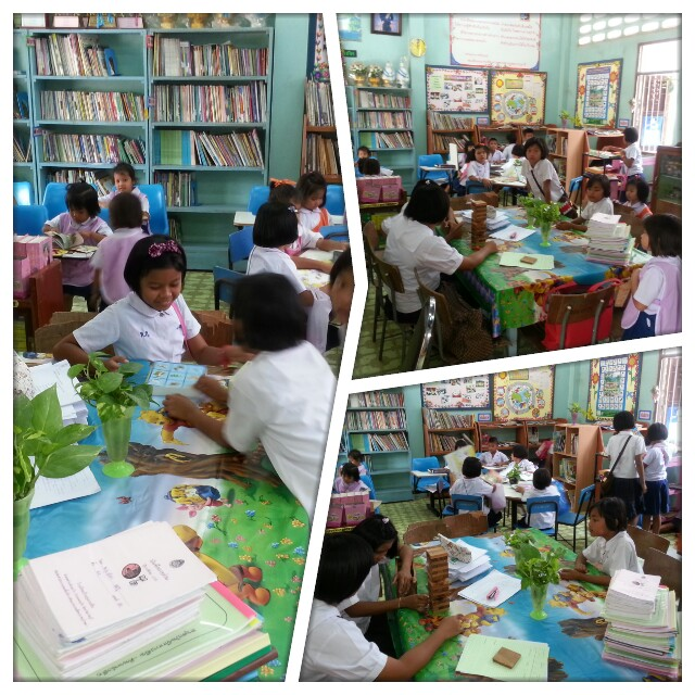 การพัฒนาแหล่งเรียนรู้ของโรงเรียนบ้านทุ่งกระถิน