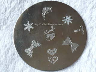 Konad m59 stamping plate