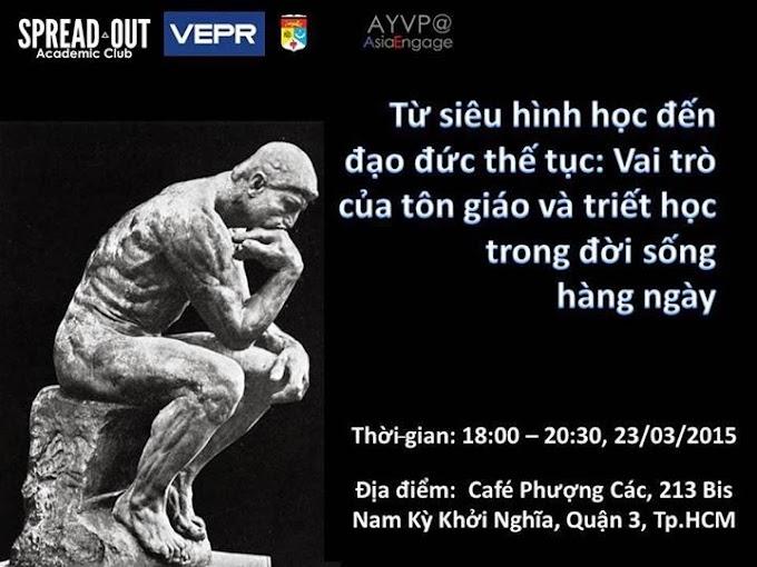 Sinh hoạt học thuật: Từ siêu hình học đến đạo đức thế tục: Vai trò của tôn giáo và triết học trong đời sống hàng ngày
