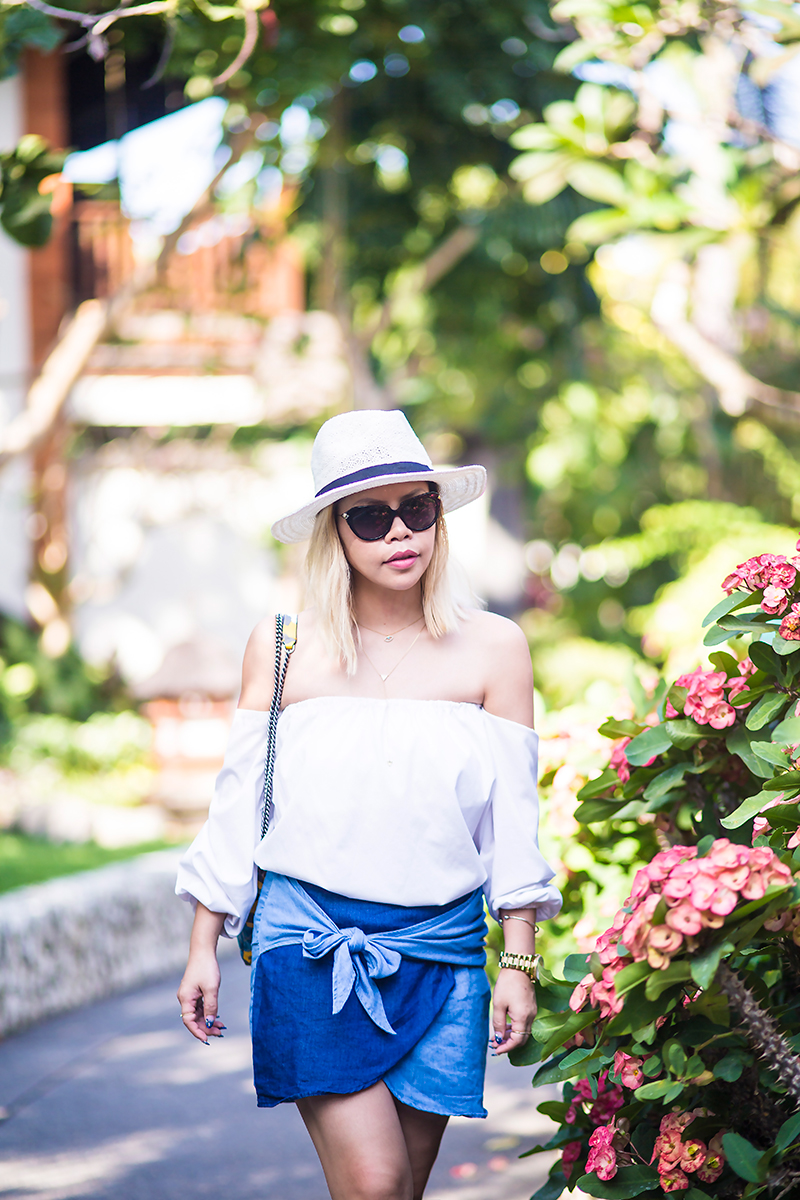 Crystal Phuong- Streetstyle ready in Bali